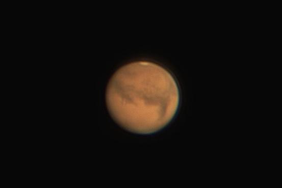По данным NASA, ближе всего к Земле красная планета приблизится в 19:18 по екатеринбургскому времени