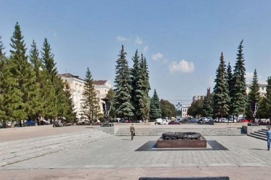 Новая стела появится в самом центре Челябинска — на Аллее Славы