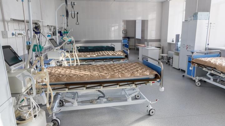 В Волгоградской области семь человек лежат под аппаратами ИВЛ