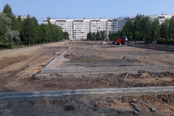На территории комплекса можно будет заниматься футболом, лёгкой атлетикой, баскетболом и прочими видами спорта