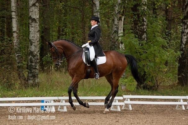 Для Кати конный спорт намного интереснее, чем политика