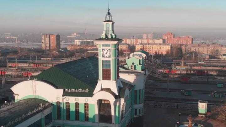 Город без людей: новосибирец снял с высоты пустой Новосибирск