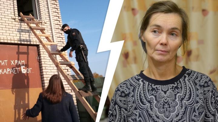 «Кто разорит храм, того покарает Бог»: почему в Архангельске баптисты защищают от приставов свой дом