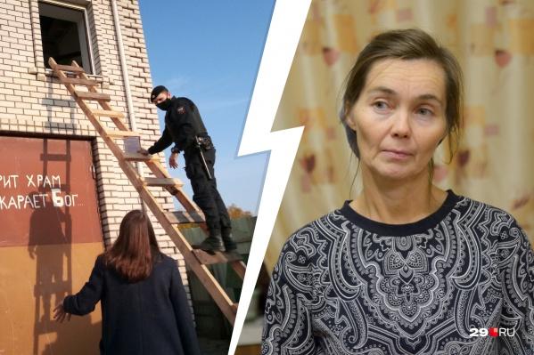 Многодетная мать Екатерина Степанова рассказала, что «их предыдущий дом сожгли, а нынешний хотят снести» — по ее словам, из-за их веры