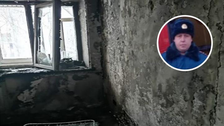 «Я забыл, что боюсь высоты»: в Ярославле водитель спас из огня семью с тремя детьми