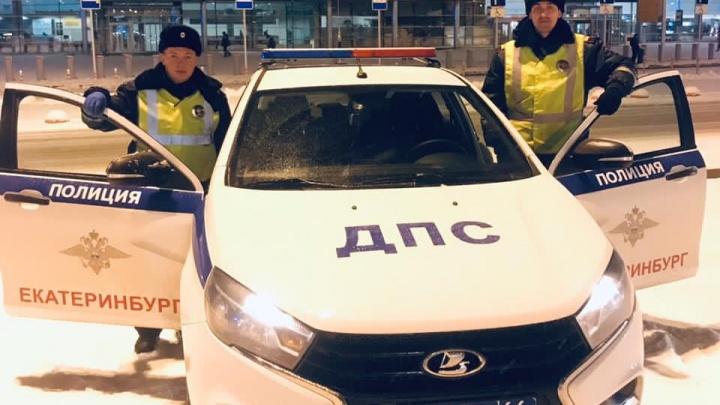 В Екатеринбурге автоинспекторы стали «ангелами-спасителями» для девочки с астмой