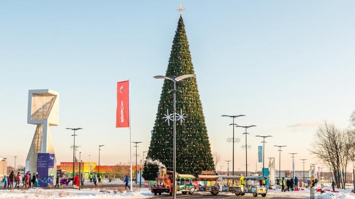 Около «Самара Арены» сделают новогоднюю «Космоаллею» с гигантским памятником