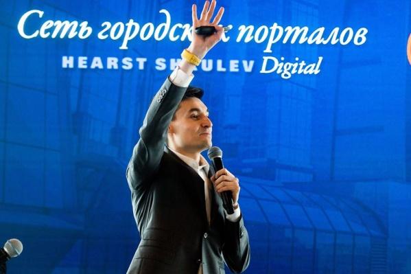 Ведущий директор Сети городских порталов Hearst Shkulev Digital Ринат Низамов