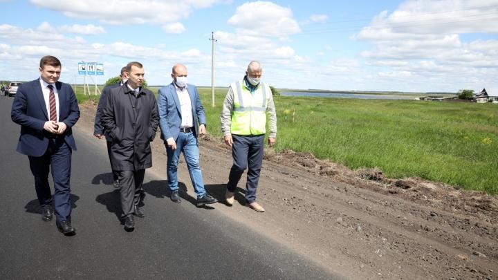 «Заходите, работайте»: Вадим Шумков ответил недовольным количеством ремонтируемых в Зауралье дорог
