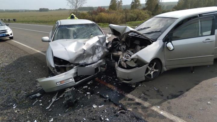 На трассе Кемерово — Юрга в жёстком ДТП пострадали 5 человек