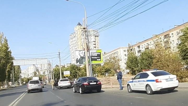 В центре Волгограда полиция устроила облаву за незаконную тонировку