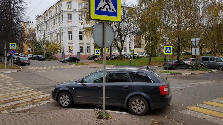 По три нарушения за раз: подборка неудачников парковки в Ярославле