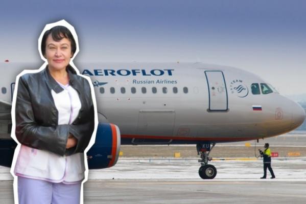 Лариса Яснева вернулась из Италии 29 февраля