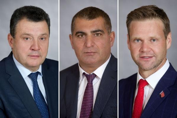 Владимир Рейнгардт, Артур Мкртчян и Роман Гольдман