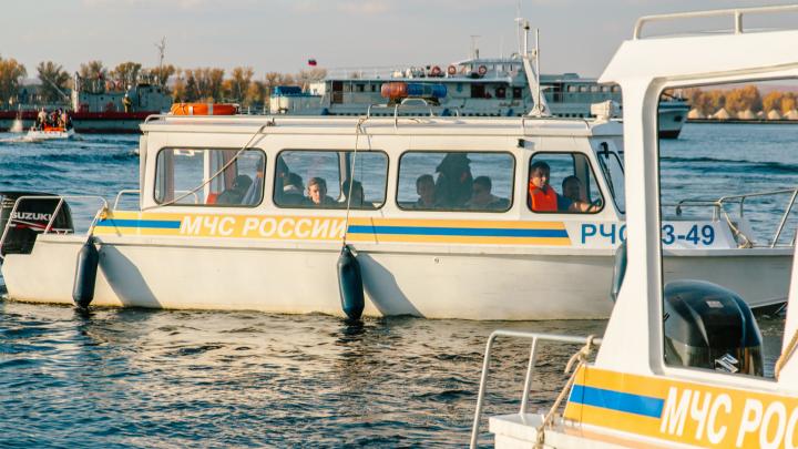 В Самарской области «Казанка» протаранила резиновую лодку