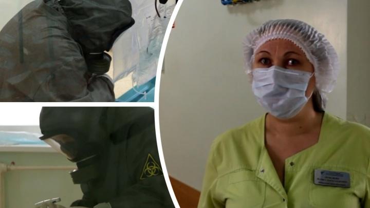 «Первое время трудно дышать, а потом привыкаешь»: медик из тюменской инфекционки — о работе и пациентах