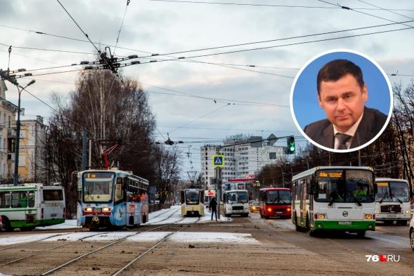 Дмитрий Миронов рассказал о судьбе троллейбусного парка<br>