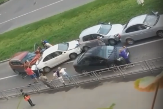 В ГИБДД сообщили о троих пострадавших