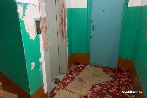 Второе нападение произошло в многоэтажке на улице Степанца