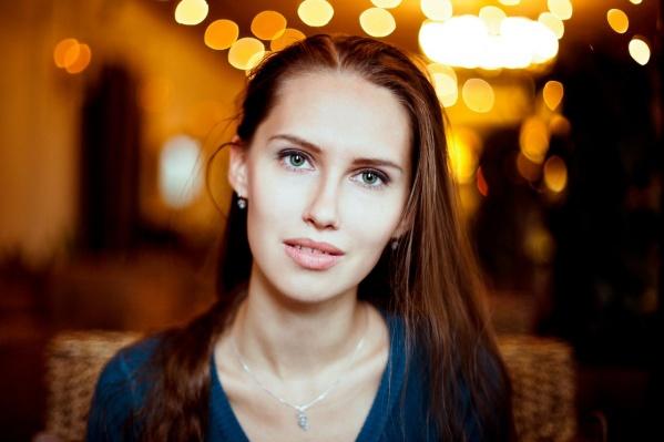 Екатерина Антонцева родилась и окончила школу в Лесном