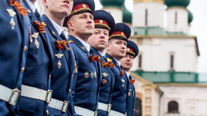 На парад Победы в Ярославле пустят только с отрицательным тестом на коронавирус