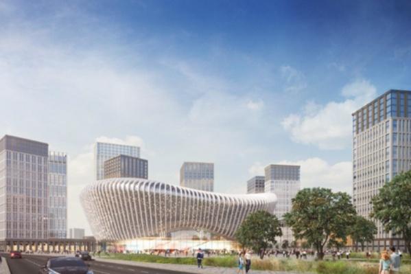 Территория Товарного двора — это участок в районе улицы Локомотивной. Там, по плану, должен появиться новый концертно-спортивный комплекс, новый автовокзал и жилая застройка. Проект называется «Пермь-Сити»