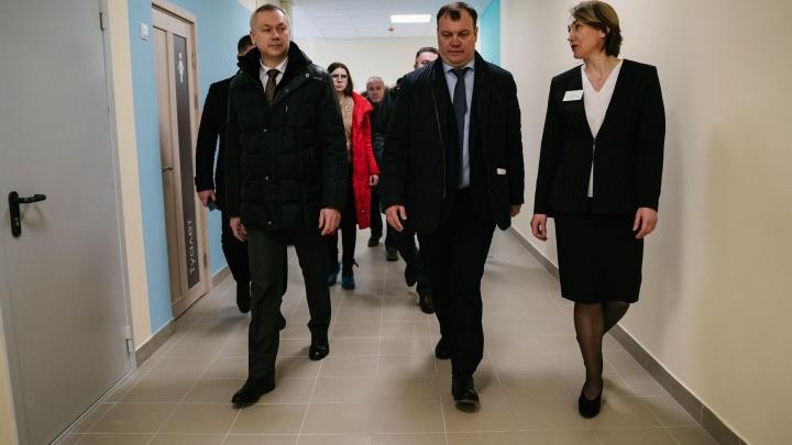 Здесь поучился бы каждый взрослый: чем удивила губернатора новая школа в жилом районе Светлый