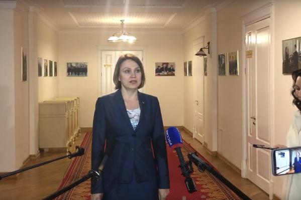 Инна Куликова работала в Тюмени директором областного департамента здравоохранения