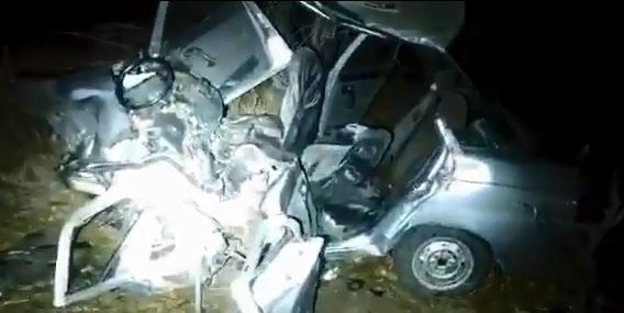 В аварии на подъезде к Магнитогорску погиб житель Башкирии. Сотрудники полиции сняли видео с места