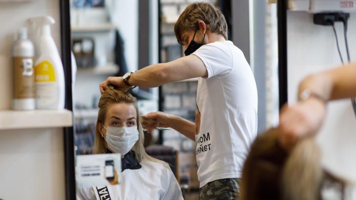 Парикмахерским и салонам красоты разрешили работать, выставив огромный список требований. Публикуем их