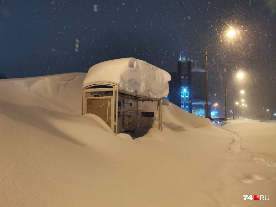 Норильск в эти дни. Ничего особенного — снег выпал