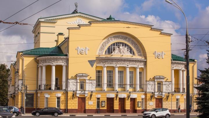 В ярославском Волковском театре артисты массово заразились коронавирусом