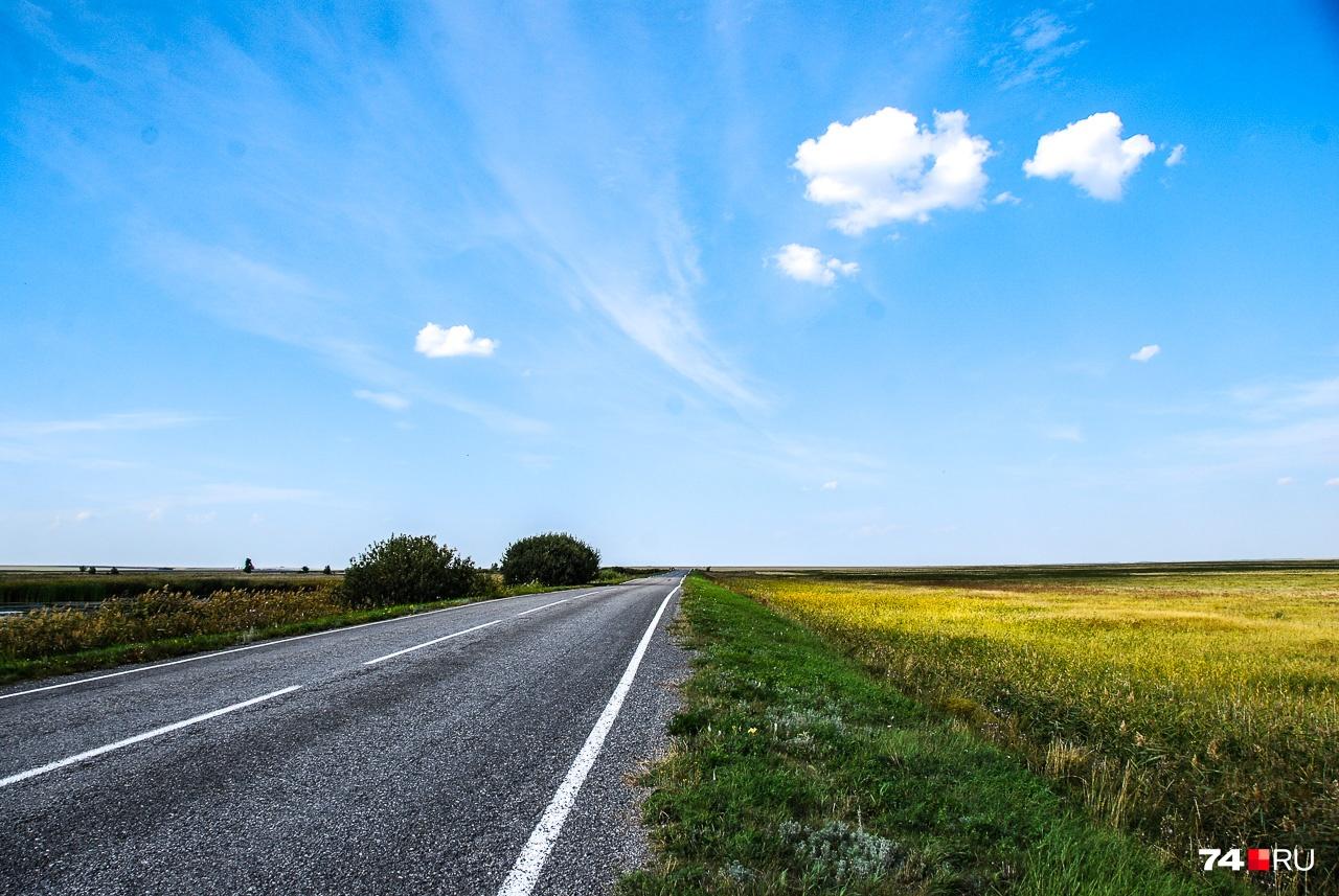 Чесменский и Варненский районы по-своему очень колоритны: здесь много солнца, ярких красок и прямых дорог