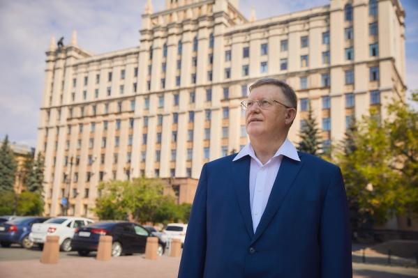 Ректор ЮУрГУ Александр Шестаков
