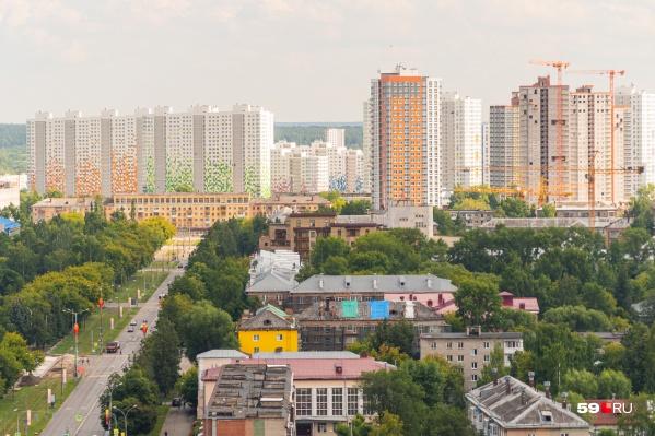 Девелопер хочет увеличить высотность и плотность застройки на участках вдоль Чернышевского