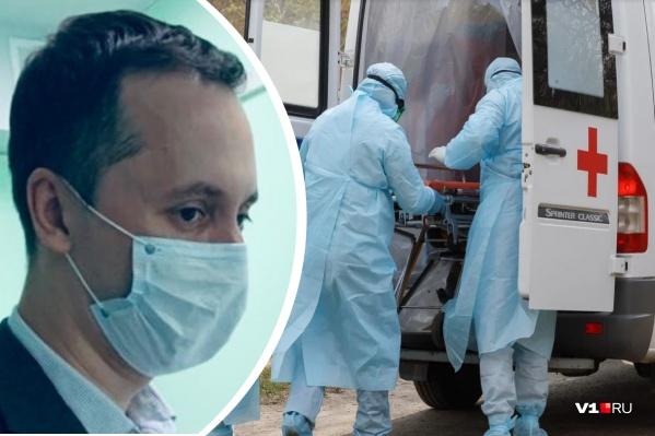 Глава нижегородского Минздрава ответил на вопросы горожан об «основном ударе» коронавируса