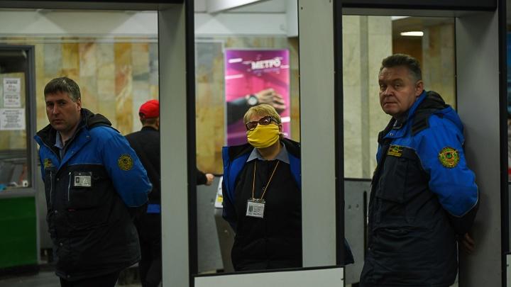 Из-за «коронавирусных каникул» в метро Екатеринбурга ввели четырехдневную рабочую неделю