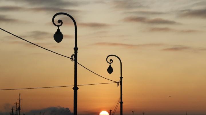 Завершается сезон белых ночей: в Архангельске зажгут фонари