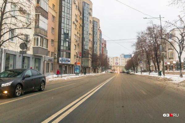 Чиновники рассчитывают очистить центр Самары от автомобилей