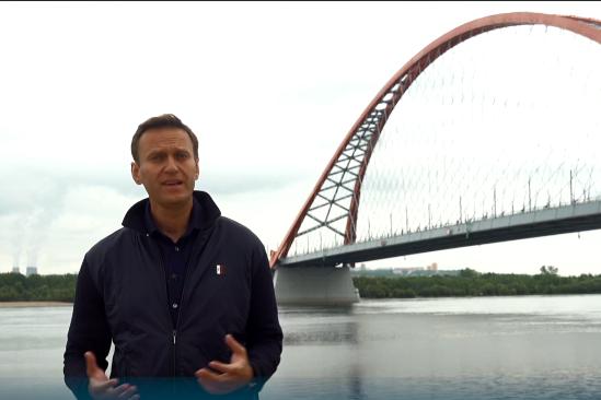 Навальный несколько дней работал в Новосибирске