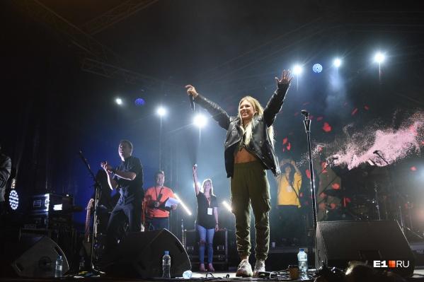 Рита Дакота на фестивале в прошлом году