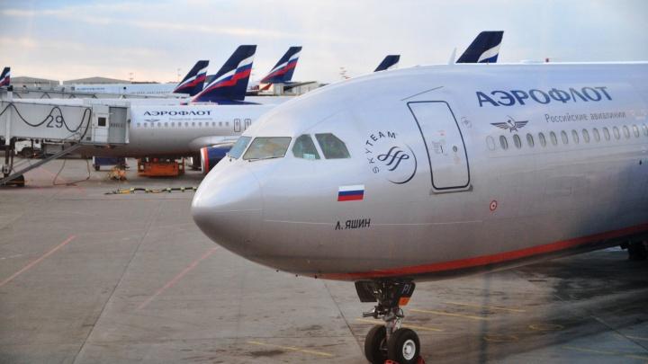 В Екатеринбурге совершил вынужденную посадку самолет, летевший из Москвы в Омск