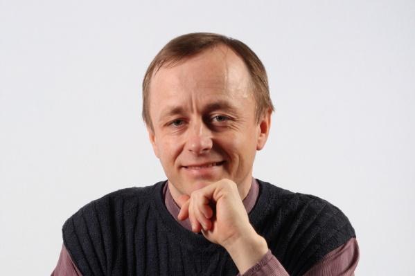 У преподавателя Валерия Сыропятова стаж — более 20 лет