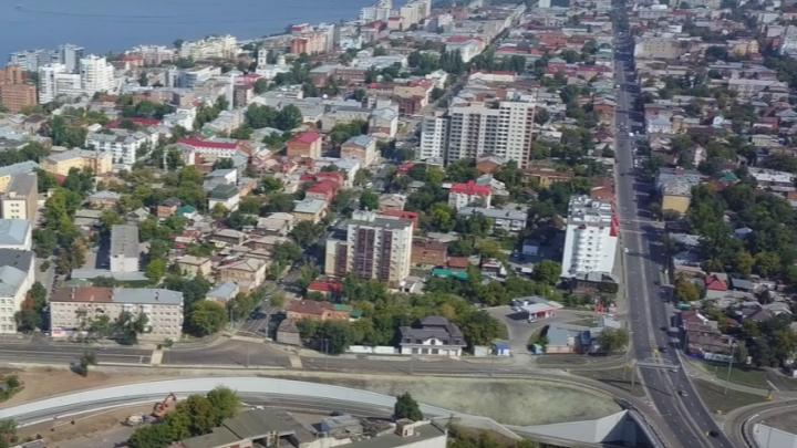 Вдоль побережья: самарский блогер показал, как выглядят готовые развязки Фрунзенского моста