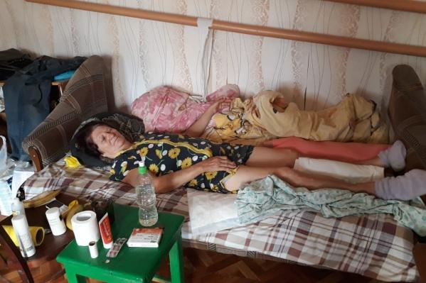 По словам дочерей Любови Ларцевой, отказывали в госпитализации не только районные больницы, но и больницы Волгограда