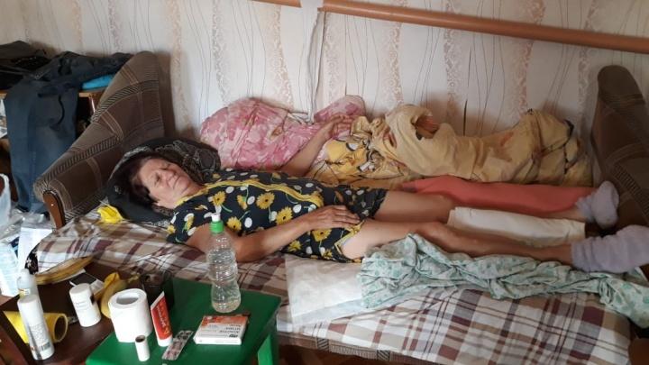 «Мама плачет от непрерывной боли»: в Волгоградской области женщине с переломом ноги отказали в госпитализации