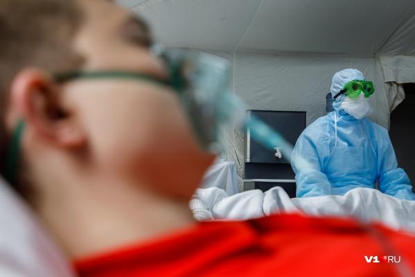 В регионе замедлилось количество случаев выздоровления и смертей