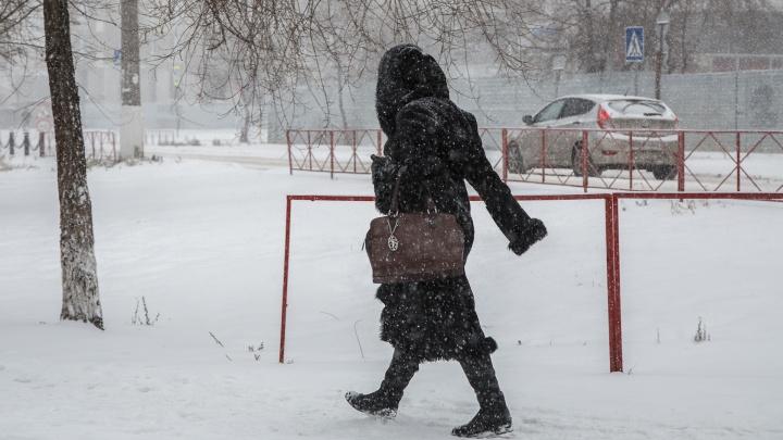 Снег, гололед и ветер: Росгидромет предупредил об ужасной погоде в Волгоградской области