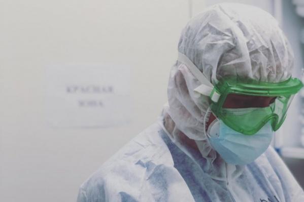 Глеб работает в ковид-госпитале в Зубово с начала пандемии
