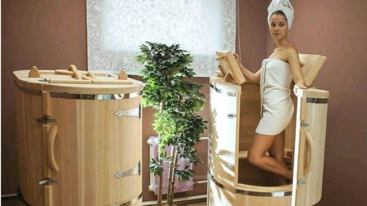 Новосибирский кедровый завод разработал бани и сауны — их можно установить в квартире и на даче